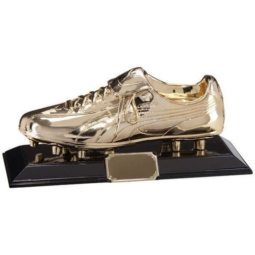 Classic Puma King Golden Football Boot Award 320x140mm