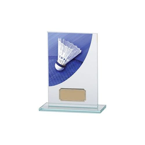 Colour Curve Badminton Jade Glass Award 140mm