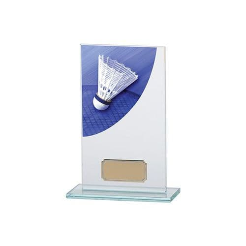 Colour Curve Badminton Jade Glass Award 160mm