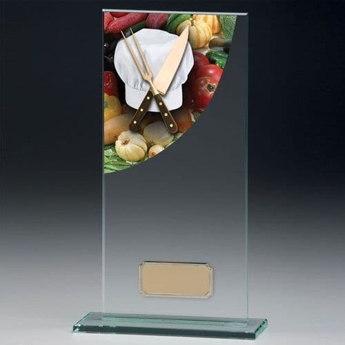Colour Curve Cooking Jade Glass Award 200mm