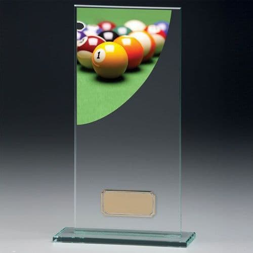 Colour Curve Pool Jade Glass Award 160mm