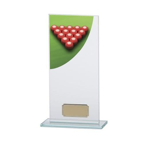 Colour Curve Snooker Jade Glass Award 200mm