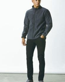 CORPORATE SOFT SHELL JACKET GRAPHITE  M'