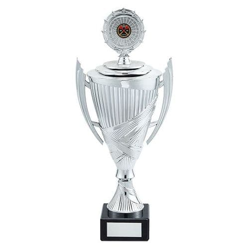 Crusader Plastic Cup Silver 380mm