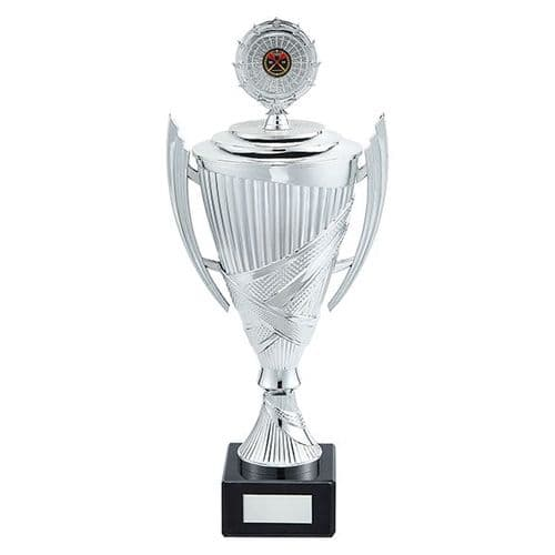 Crusader Plastic Cup Silver 430mm