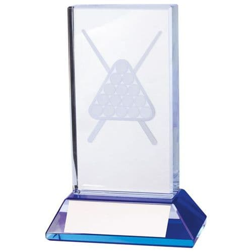 Davenport Pool & Snooker Crystal Award 110mm