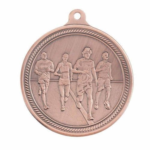 Endurance Running Medal Bronze 50mm