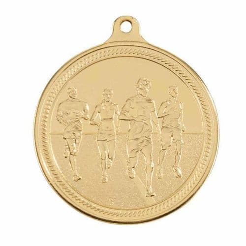 Endurance Running Medal Gold 50mm
