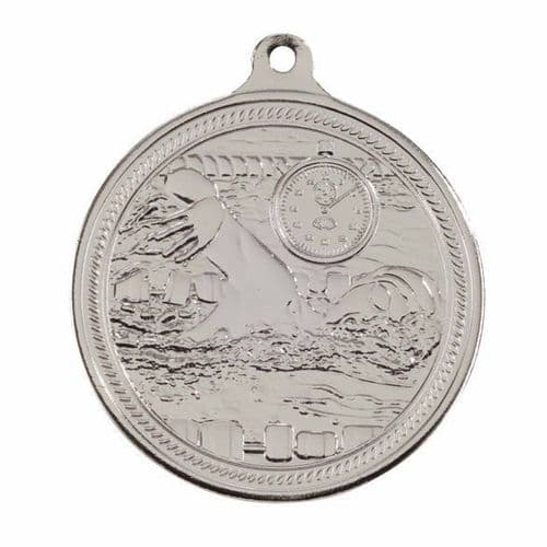 Endurance Swimming Medal Silver 50mm