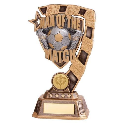 Euphoria Football Man of The Match Award 180mm