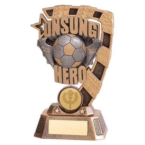 Euphoria Football Unsung Hero Award 150mm