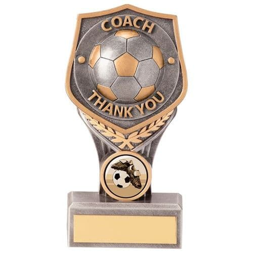 Falcon Football Coach - Thank You Award 150mm