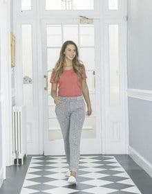 GALS LOUNGE PANT HEATHER  XS'