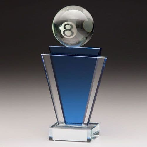 Gauntlet Pool Crystal Award 160mm