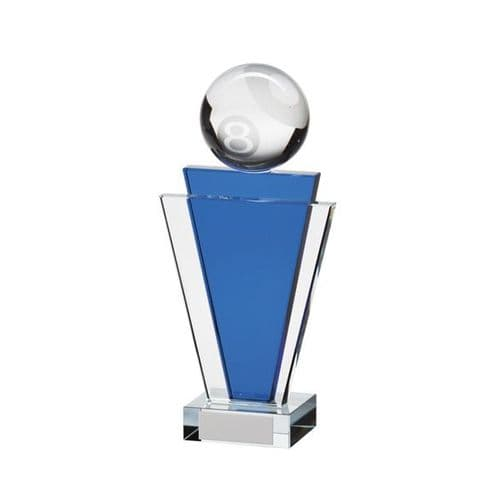 Gauntlet Pool Crystal Award 180mm