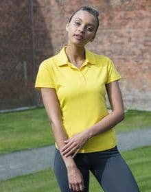 GIRLIE COOL POLO HEATHER  S'