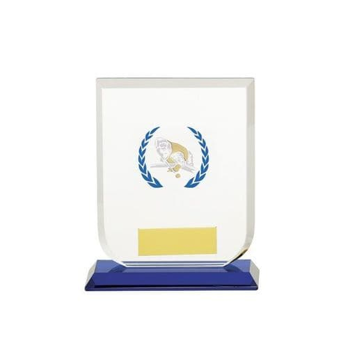 Gladiator Pool Snooker Glass Award 120mm