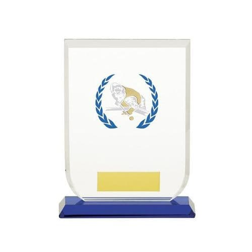 Gladiator Pool Snooker Glass Award 140mm