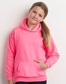 KIDS ELECTRIC HOODIE ELECTRIC YELLOW  XS'