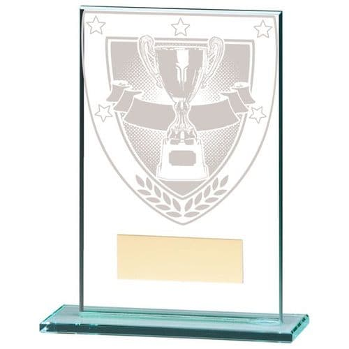 Millennium Achievement Jade Glass Award 125mm