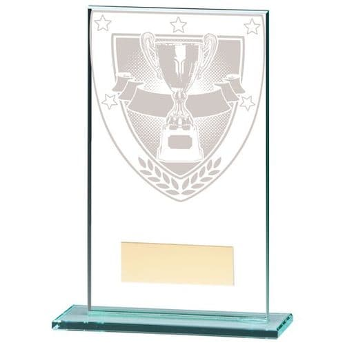Millennium Achievement Jade Glass Award 140mm