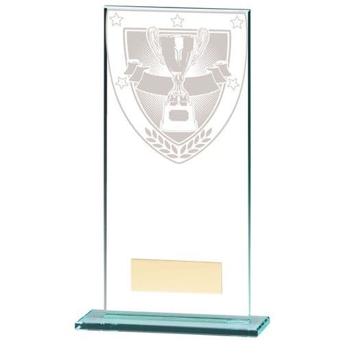Millennium Achievement Jade Glass Award 180mm