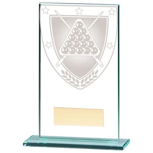 Millennium Snooker Jade Glass Award 140mm