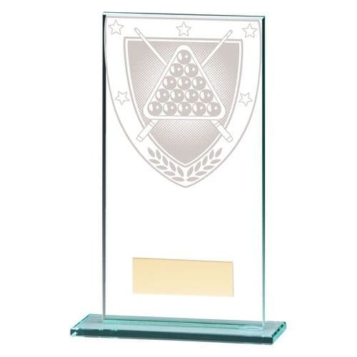 Millennium Snooker Jade Glass Award 160mm