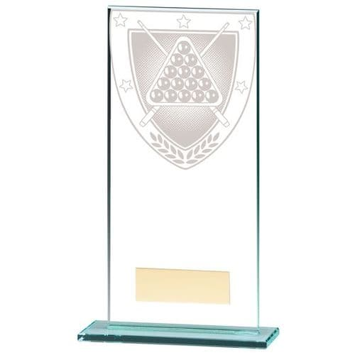 Millennium Snooker Jade Glass Award 180mm