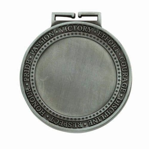 Olympia Multisport Medal Antique Silver 70mm