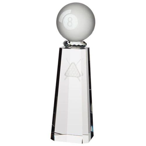 Synergy Pool Crystal Award 190mm