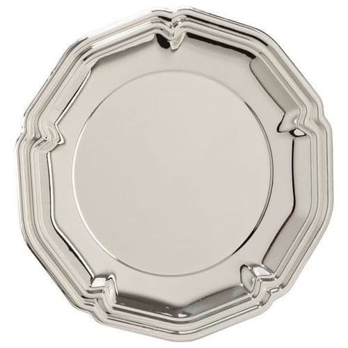 The English Rose Silver Salver 100mm