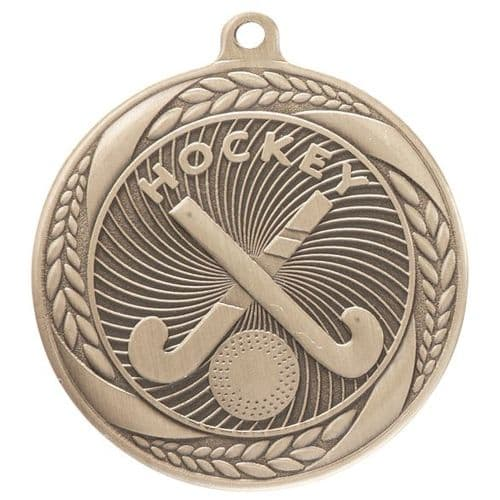 Typhoon Hockey Medal Gold 55mm