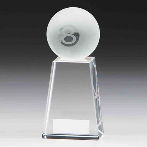 Voyager Pool Crystal Award 125mm