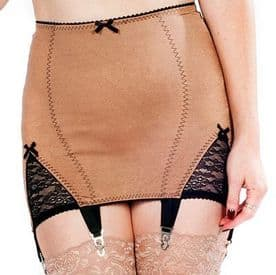 Retro Girdle with 6 Suspender Straps in 4 colours