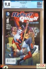 HARLEY QUINN #1 Cover C (2014 series) - 3rd Print Variant Cover - **CGC 9.8**