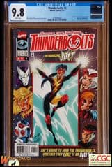 THUNDERBOLTS #4 COVER A (1997 Series) , 1st JOLT - **CGC 9.8**