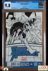 YOUNG AVENGERS #1 2nd Print Variant (2013 Series) - **CGC 9.8**