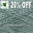 0193 - GLACIER GREEN - KING COLE OPIUM TEXTURED CHUNKY & DK KNITTING YARN - 20% OFF