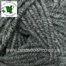 020 - GREY - GRUNDL PERFINO ARAN WITH WOOL  KNITTING YARN