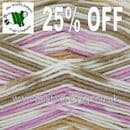 1126 - SANDSTONE - KING COLE CHERISH DK ANTI-PILLING SELF PATTERN KNITTING & CROCHET YARN - 25% OFF