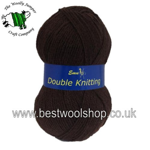 113 - BROWN - EMU DK KNITTING YARN - MADE IN UK
