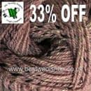 1518 - QUARTZ - KING COLE MOORLAND ARAN 400G KNITTING YARN - 33% OFF