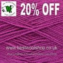 1744 - ORCHID - KING COLE PRICEWISE DK KNITTING & CROCHET YARN - 20% OFF