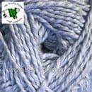 2815 - SOFT BLUE - KING COLE FINESSE COTTON SILK DK KNITTING & CROCHET YARN