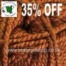 558 - OLD COPPER - KING COLE BIG VALUE CHUNKY KNITTING YARN - 100G BALL - 35% OFF