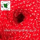708 - SALCOMBE RED - HAYFIELD BONUS ARAN WITH WOOL 400G KNITTING YARN