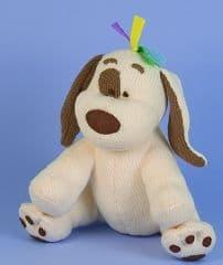 CHARLIE'S ARK PEE PEE THE DOG KNITTING KIT