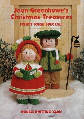 CHRISTMAS TREASURES - JEAN GREENHOWE'S KNITTING PATTERN BOOKLET